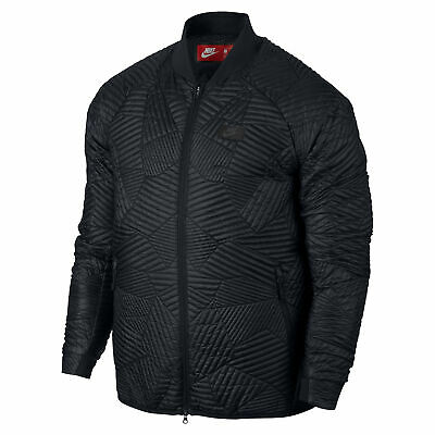 Nike Sportswear Primaloft Synthetic Fill Quilted Bomber Jacket Black 864946 010