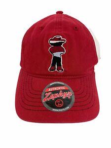 Rare-Nebraska-Cornhuskers-Trucker-Mesh-Snapback-Red-White-Black-Zephyr-Cap-Hat