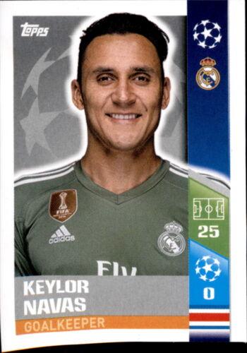 Sticker 6 CL1718 Madrid CF Keylor Navas Real