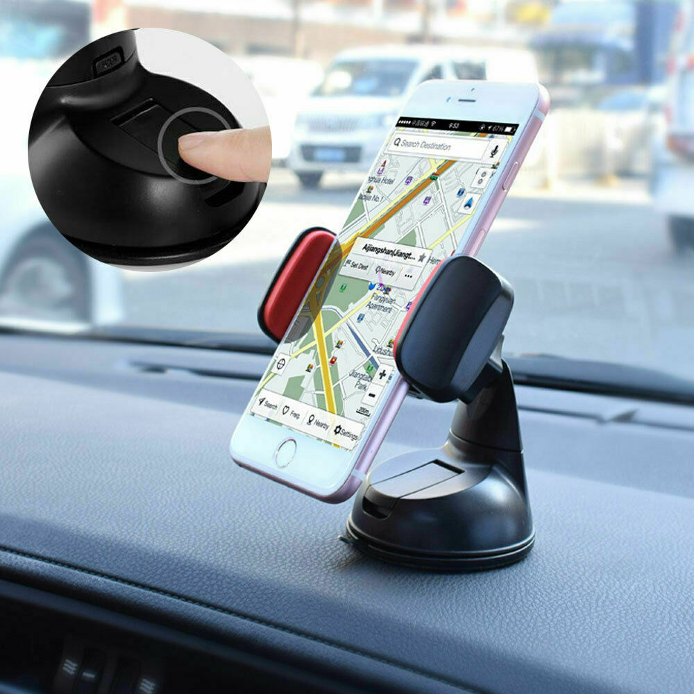 360 In Car Mobile Phone Holder Universal Mount Windscreen Dashboard Suction Home 7