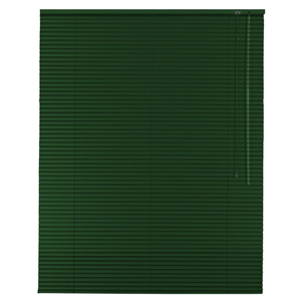 Aluminium Jalousie Alu Jalousette Jalusie Fenster Rollo - Höhe 100 cm dunkelgrün   Creative