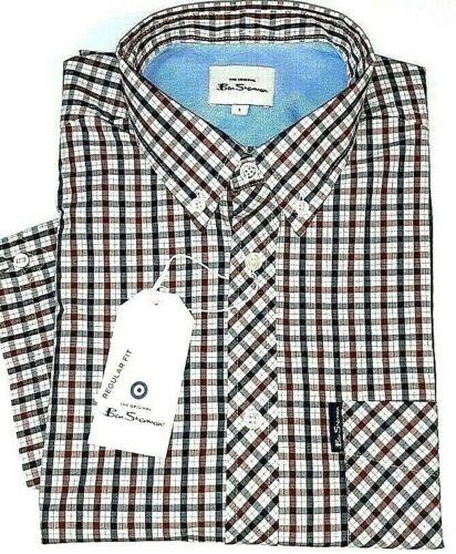 Rabatt 20/% BEN SHERMAN Hemd Ss Signature Haus Check Hemd 59144 Casual Mods