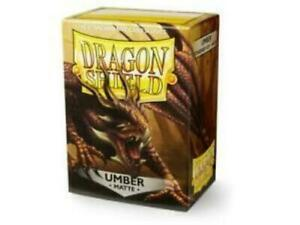 Dragon-Shield-Umber-Matte-Card-Sleeve-Protectors-100-Pack-Free-Shipping