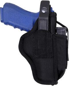 Black-Tactical-Ambidextrous-Law-Enforcement-Pistol-Belt-Holster