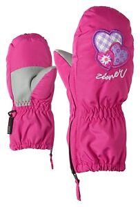 Ziener Kinder Handschuhe Fäustling Le Zoo Mini Herzchen pink