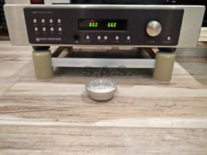 SONIC-FRONTIERS-LINE-1-VACUUM-TUBE-STEREO-PRE-AMPLIFIER-MINT-REMOTE-amp-REBUILT