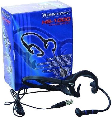 OMNITRONIC HS-1000 XLR Headset-Mikrofon
