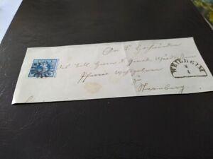 Bayen-3-Kreuzer-blau-2II5-auf-Briefstueck-gMR-034-567-034-Weilheim