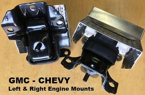 2pcSet-2007-2013-Chevy-GMC-Truck-Avalanche-Silverado-Sierra-1500-Engine-Mounts