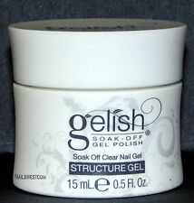 Nail Harmony Gelish Structure Clear Gel - 1/2oz (15ml) (01247)
