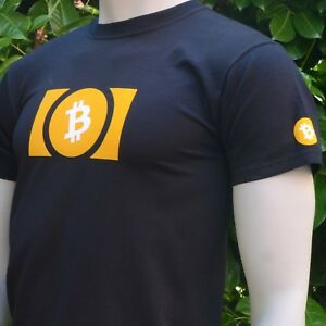 Bitcoin-Cash-BCH-Men-039-s-T-Shirt-Print-on-Front-Back-and-Both-Sleeves-Crypto