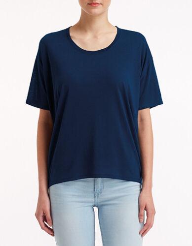 Loose Freedom Shirt oversized Oeko-Tex kurzarm Gr.XS-XXL in 7 Farben A36PVL