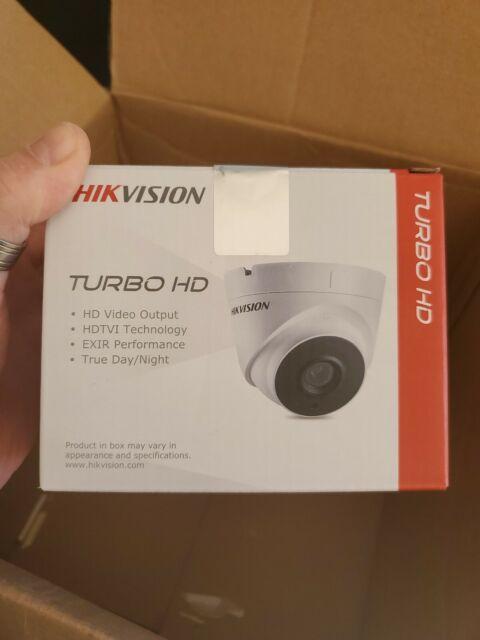 Hikvision 3MP WDR Vandalproof Turbo HD EXIR Dome Camera DS-2CE56F7T-VPIT 2.8mm