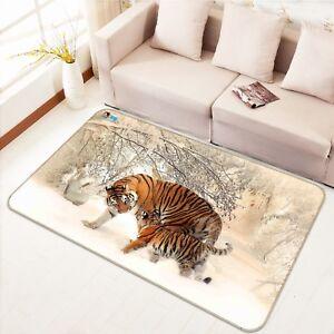 3D-Tigre-Animaux-12-Etage-Antiderapant-Natte-Elegant-Tapis-FR-Tiffany