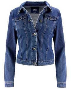 femmes-denim-jean-veste-bleu-Veste-Mi-saison-Veste-femmes-retro-vintage