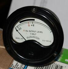 Burlington Electrical Meter Db Out Put Level Fs100 Micro Amp
