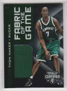 2016-17-Panini-Totally-Certified-17-Thon-Maker-Milwaukee-Bucks-Basketball-Card