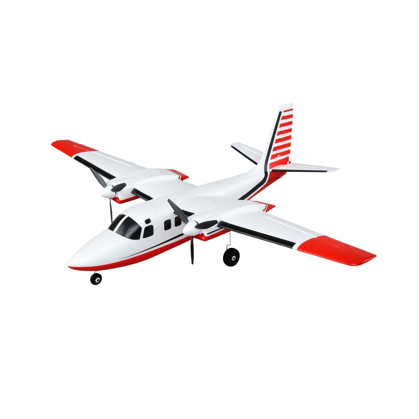 E-Flite UMX Aero Commander BL Brushless Bind And Fly Basic R C Airplane EFLU5850