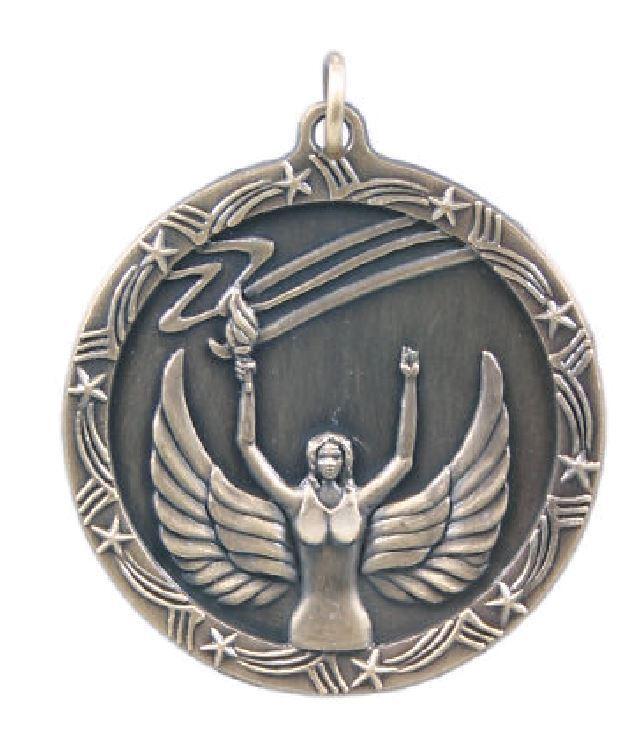 Victoria Medalla Escuela de deportes de equipo Premio Trofeo C   Correa Gratis Envío Gratis M148
