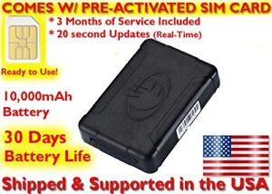 Details about RGT915 Battery Powered GPS Tracker Mini Vehicle Hidden Spy  Location Tracking