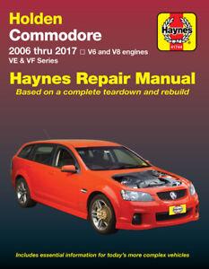Holden Commodore VE, VF 2006-2017 Repair Manual