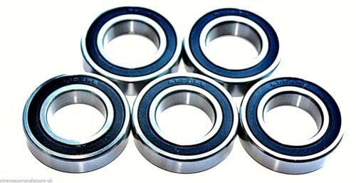 5 pack 61806 2rs [6806] 30x42x7w Stainless Steel HIGH PERFORMANCE BEARINGS