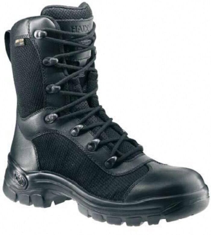 HAIX AIRPOWER P3 BW German Army  Outdoor Goretex Stiefel Stiefel Schwarz Gr. 45