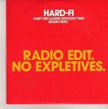(CN701) Hard-Fi, Can't Get Along - 2007 DJ CD
