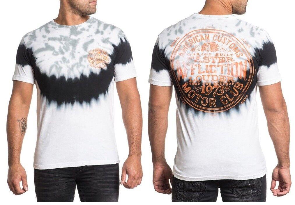 AFFLICTION XL OR XXL GARAGE SPIRIT Indian Skull Headdress XL 2XL T shirt UFC Tee   Adoptieren    Beliebte Empfehlung    Maßstab ist der Grundstein, Qualität ist Säulenbalken, Preis ist Leiter