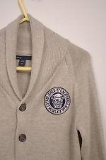 P351/45 Gap Kids Knit Boy's beige Cardigan, edad 8-9