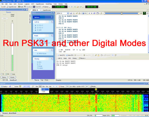 JT9 Icom USB CAT and PSK31 JT65 interface FT8 8 and 13 pin Din version.