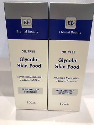 Glycolic Acid Serum Peel 2 Bottles = 200ml For Wrinkles,Acne, Age Spots ON SALE