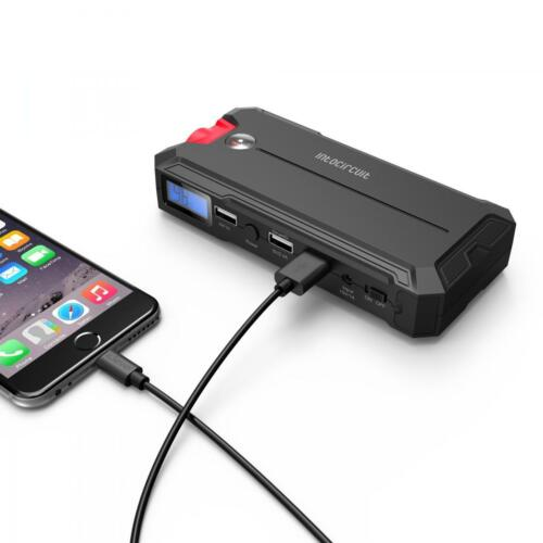 Portable Mini 10000mAh Car Jump Starter Engine 3 USBs Battery Charger Power Bank