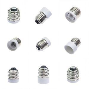 1 5pc e27 to b22 e12 e14 e17 base socket adapter converter led lampholders bulbs ebay. Black Bedroom Furniture Sets. Home Design Ideas