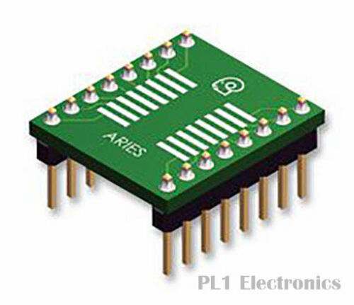 2.54MM 16-soic to dip ARIES LCQT-soic 16W ic adaptateur