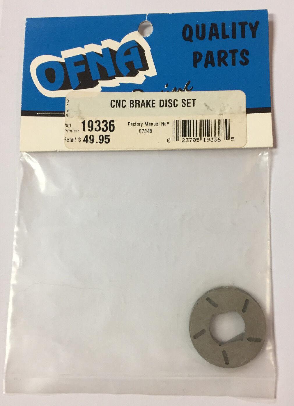 OFNA  19336 CNC Brake Disc Set NEW RC Part