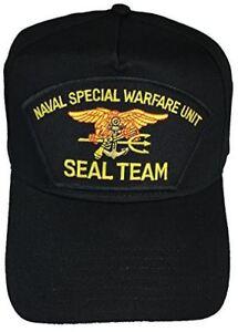 f6ce0b60fdb NAVAL SPECIAL WARFARE UNIT SEAL TEAM HAT CAP TRIDENT SEA AIR LAND ...