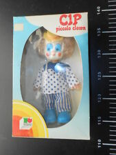 Sebino CIP PICCOLO CLOWN Pagliaccio Bianco Augusto Doll Italy  Vintage Doll