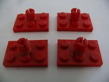 Lego 4 rotors rouge set 6685 373 386 6691 / 4 red rotor holder