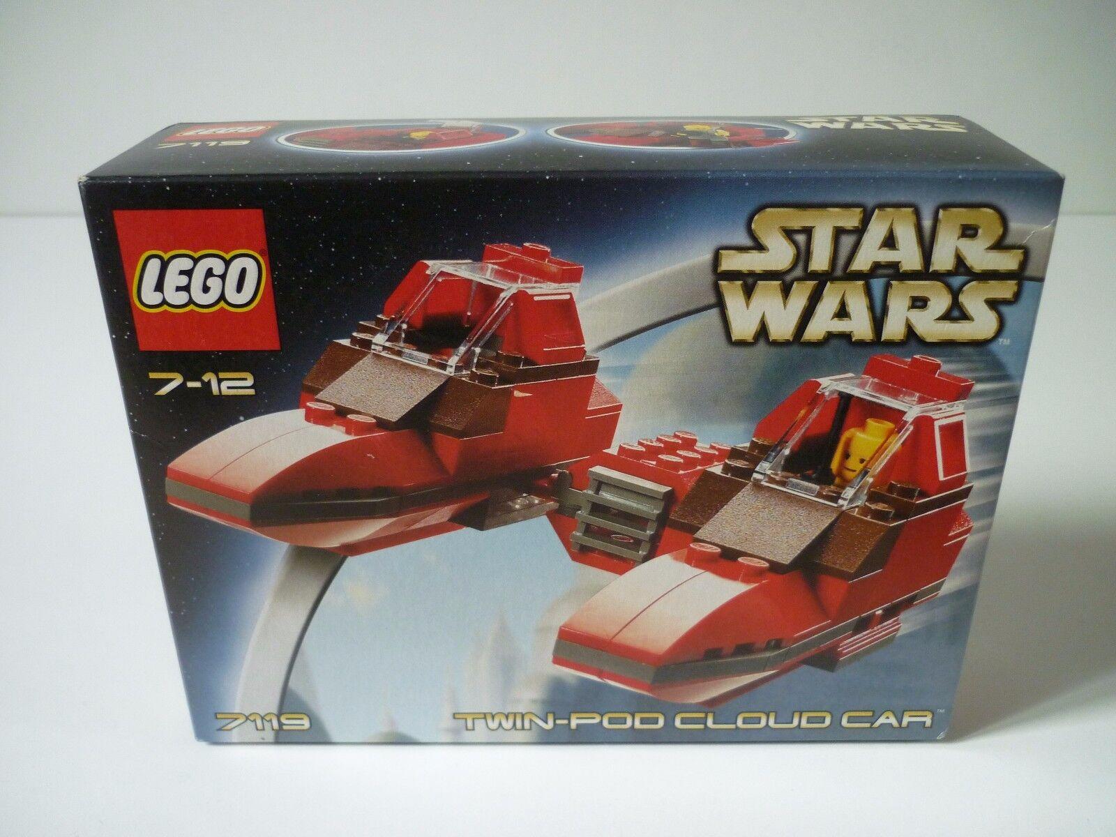 Superbe Noël sonné sonné, accueille les célébrations du du du nouvel an Lego Star Wars 7119 Twin-Pod Cloud Car [ Neuf ] 5cd56c