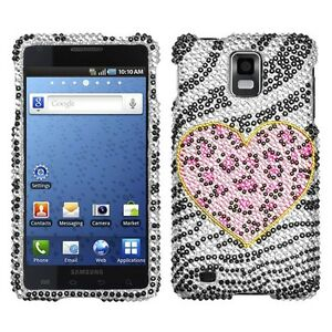 Playful-Leopard-Bling-Hard-Case-Cover-Samsung-Infuse-4G