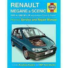 haynes renault megane scenic repair manual n to r ebay rh ebay co uk renault grand scenic service manual pdf renault megane scenic service manual pdf
