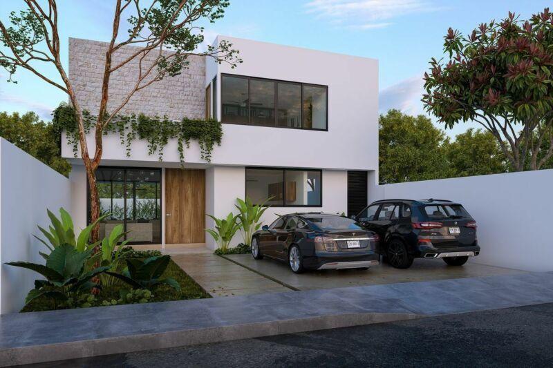 Preventa Casa en Maeba Conkal Modelo Malma L-8