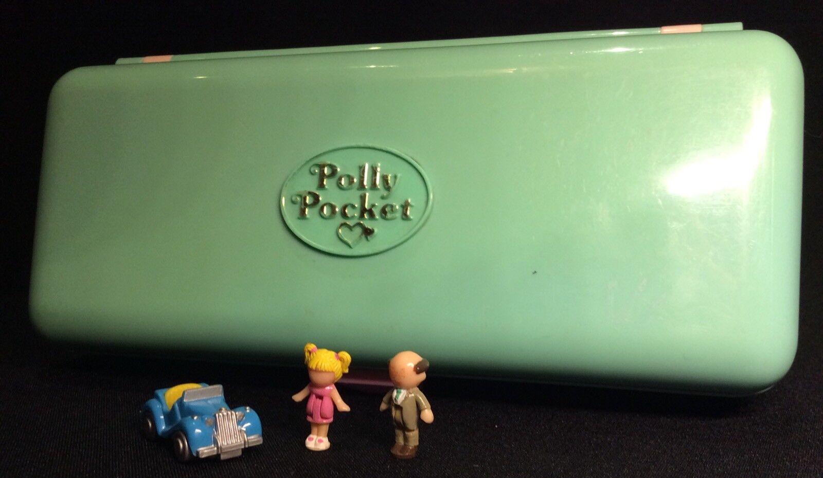 Polly Pocket mini  1989 High Street Money Box Play-Set And Trinket Box 3.1