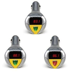 Sonde Racer V8 V10 V12 dans la Voiture Engin Effet Sonore Emetteur Fm MP3 Gadget