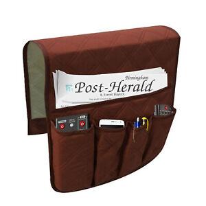 Sofa-Organizer-5-Pocket-Couch-Sessel-Fernbedienung-Aufbewahrungshalter-Neu