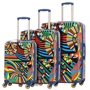 Aerolite-Lightweight-Hard-Shell-4-Wheel-Hand-Cabin-Hold-Luggage-Suitcase-amp-Sets