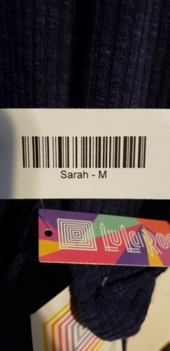 Sarah Ribbed Lularoe New Size Brand Blå Medum OxcqSIx4W