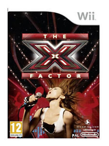 BNIP-The-X-Factor-Wii-VideoGames-BRAND-NEW-SEALED