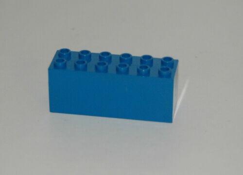 Lego 12V Eisenbahn TRAIN Gewicht Balast Balaststein 7760 6x2x2 BLAU